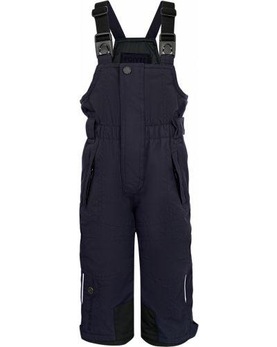 Синие брюки утепленные Poivre Blanc