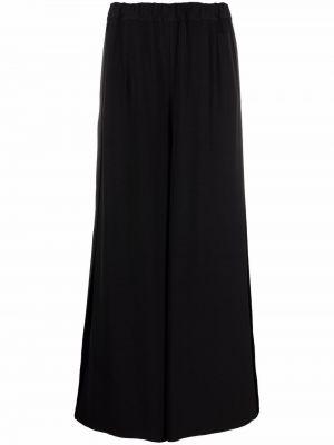 Spodnie z wysokim stanem - czarne Mm6 Maison Margiela