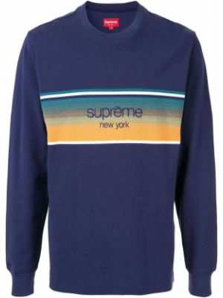 Top - niebieska Supreme