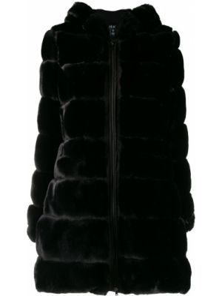 Черное пальто Polo Ralph Lauren