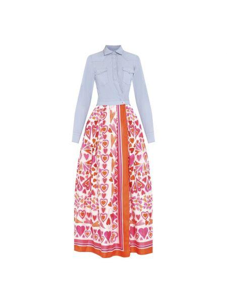 Платье шелковое Sara Roka