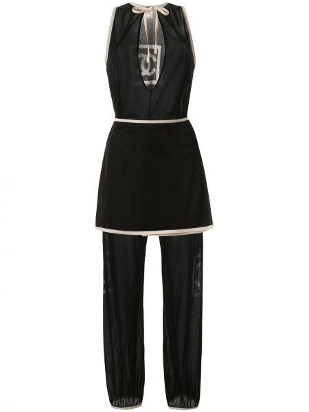 Spodni garnitur kostium z logo Chanel Pre-owned