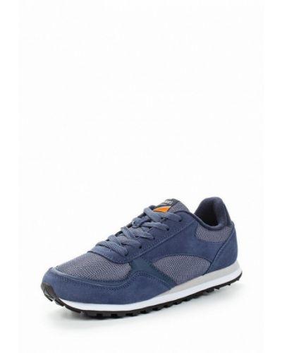 Синие замшевые кроссовки Strobbs
