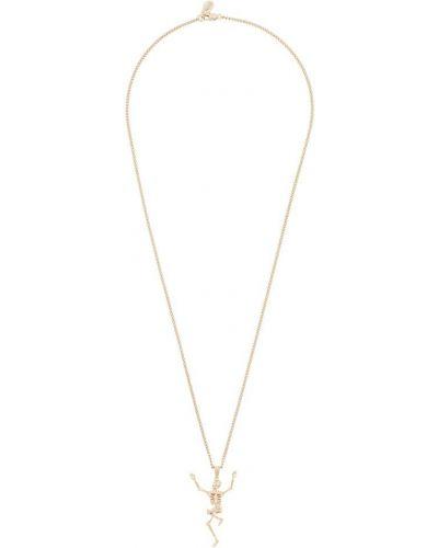 Ожерелье золотой Alexander Mcqueen