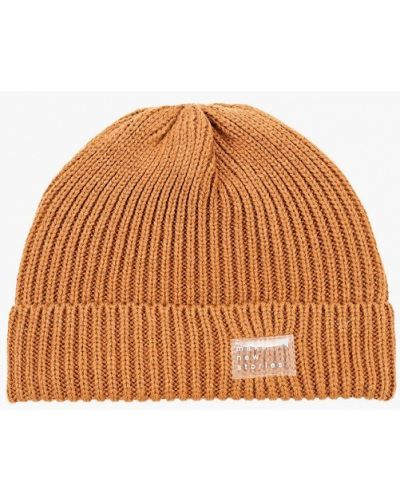 Коричневая зимняя шапка Mango Kids