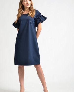 Хлопковое платье - синее Just Valeri