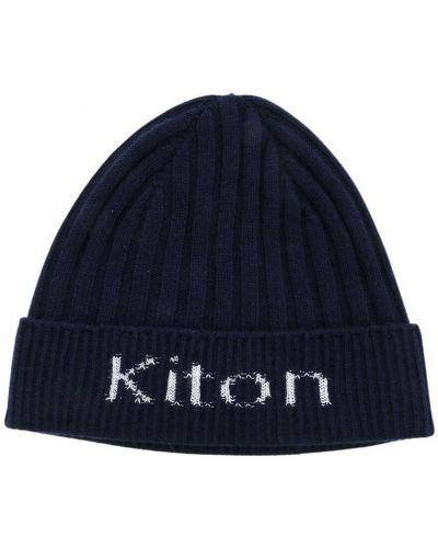 Niebieska czapka beanie Kiton