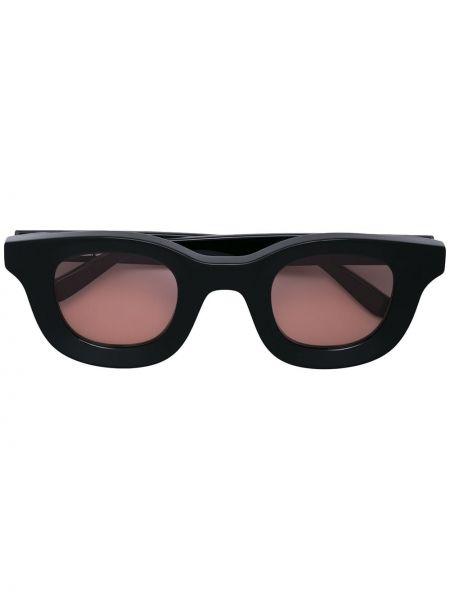 Прямые муслиновые черные солнцезащитные очки квадратные Thierry Lasry