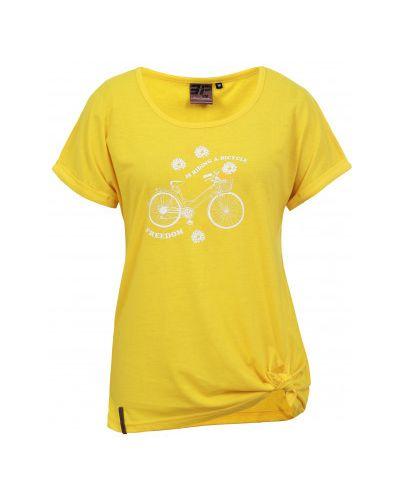 Желтая футболка с короткими рукавами Icepeak