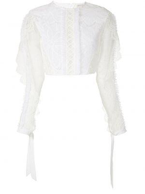 Хлопковая блузка - белая Martha Medeiros