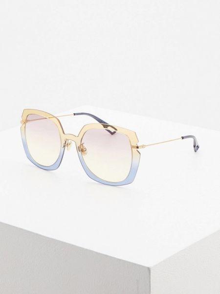 Муслиновые солнцезащитные очки прямоугольные Christian Dior