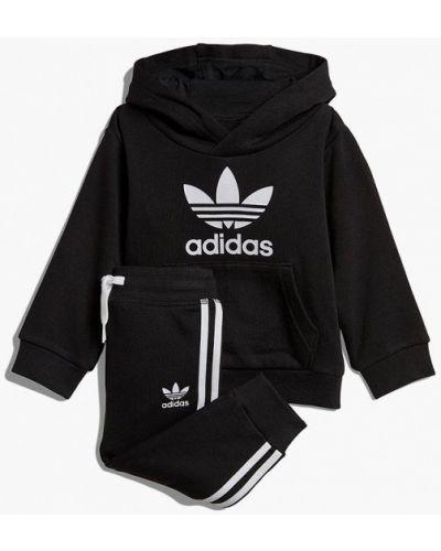Спортивный костюм черный Adidas Originals