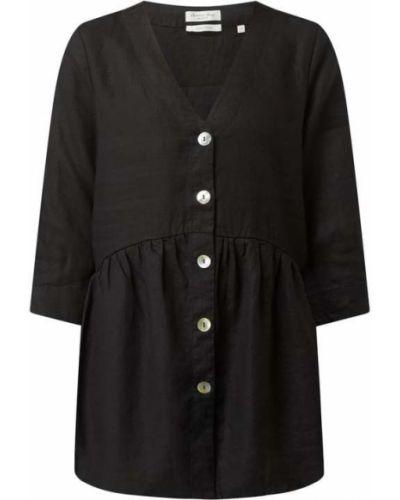 Czarna bluzka z dekoltem w serek Christian Berg Women