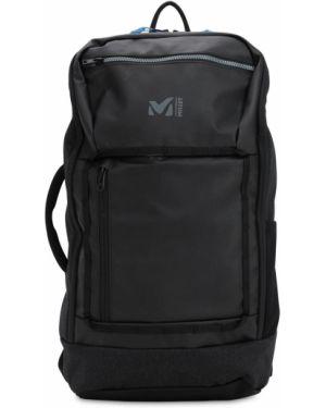 Czarny plecak z siateczką Millet