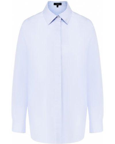 Джинсовая рубашка деловая для офиса Theory
