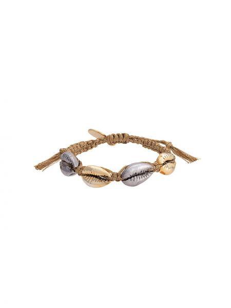 Złota bransoletka ze złota pozłacana Venessa Arizaga