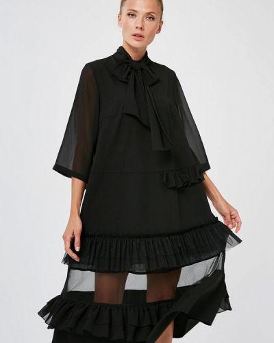 Повседневное черное платье Yulia'sway