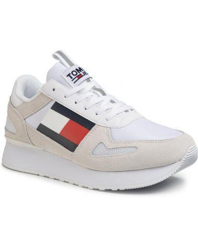 Biały jeansy Sneakersy Tommy Jeans