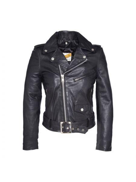 Кожаная куртка укороченная Schott