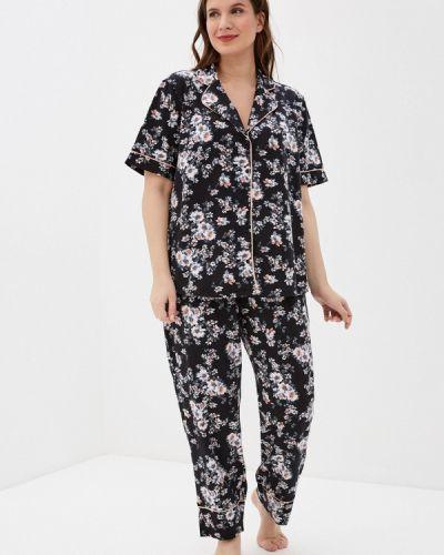 Пижамная домашняя черная пижама Hays