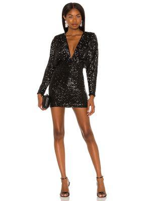 Черное платье на молнии Nookie