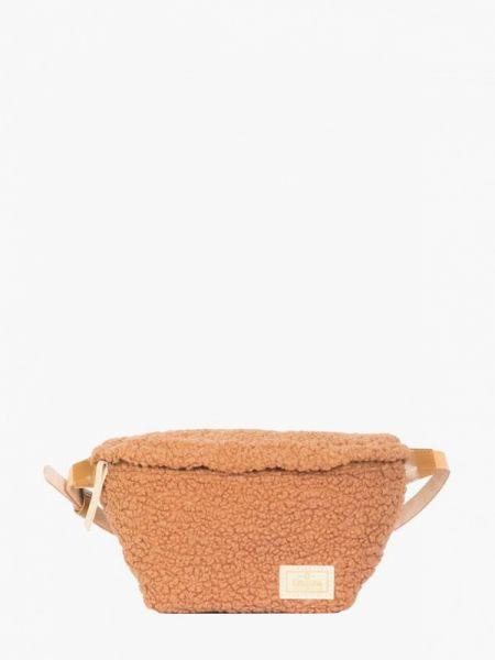 Поясная сумка весенний коричневый Kokosina