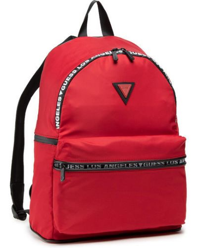 Czerwony sport plecak Guess