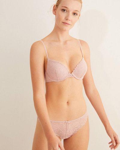 Розовый бюстгальтер из плотной ткани Women'secret