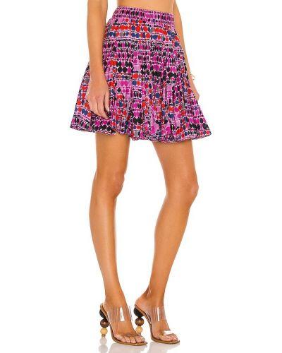 Fioletowa spódnica bawełniana Rhode