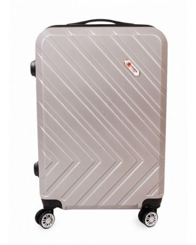 Серый чемодан Global Case