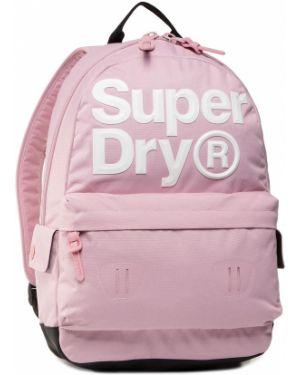 Plecak - różowy Superdry