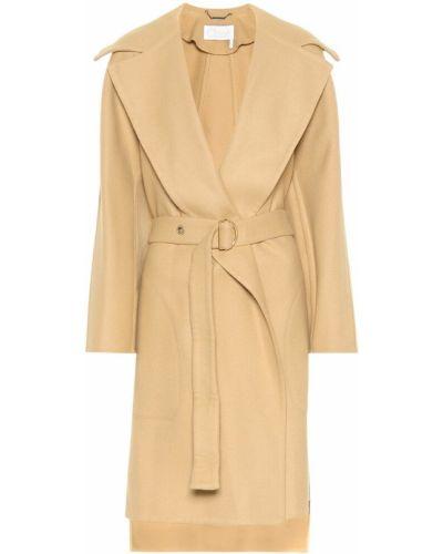 Пальто бежевое плюшевое Chloé