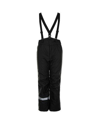 Свободные черные утепленные брюки Lassie