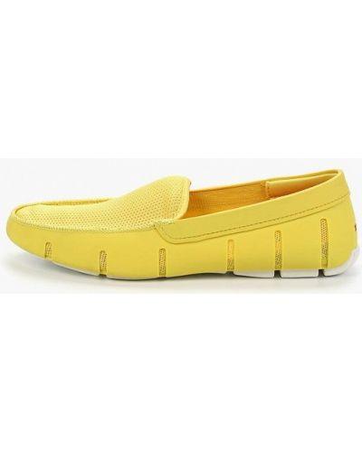 Текстильные мокасины - желтые Swims