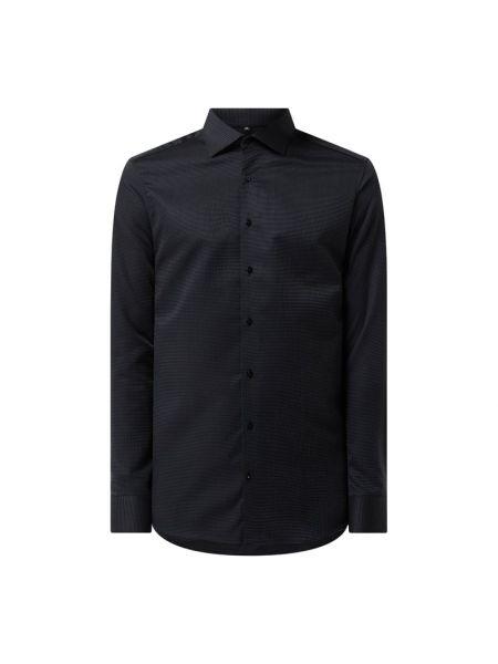 Czarna koszula bawełniana Eterna