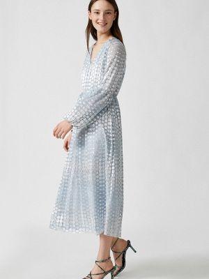 Прямое платье А-силуэта Koton