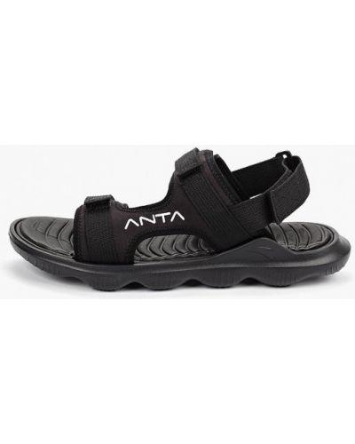 Сандалии черные Anta