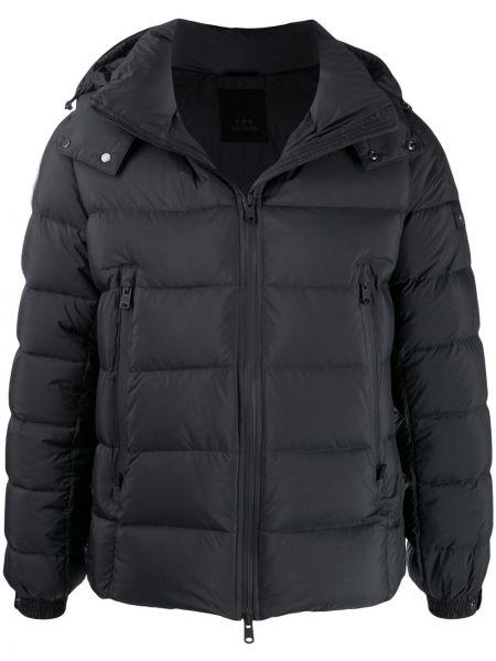 Czarna kurtka pikowana z długimi rękawami Tatras