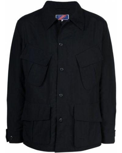 Куртка на пуговицах черная Best Made Co