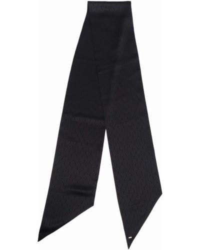 Черный галстук Saint Laurent
