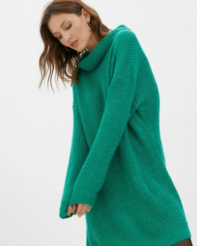 Вязаное платье - зеленое By Swan