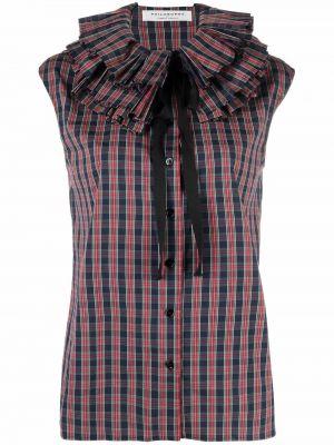 Красная хлопковая рубашка Philosophy Di Lorenzo Serafini