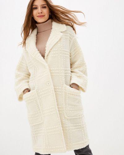 Белое пальто United Colors Of Benetton