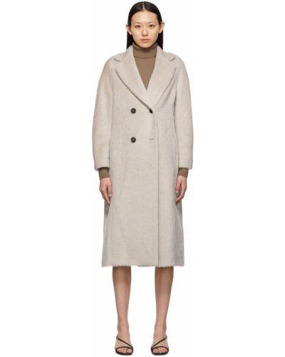 Długi płaszcz wełniany S Max Mara
