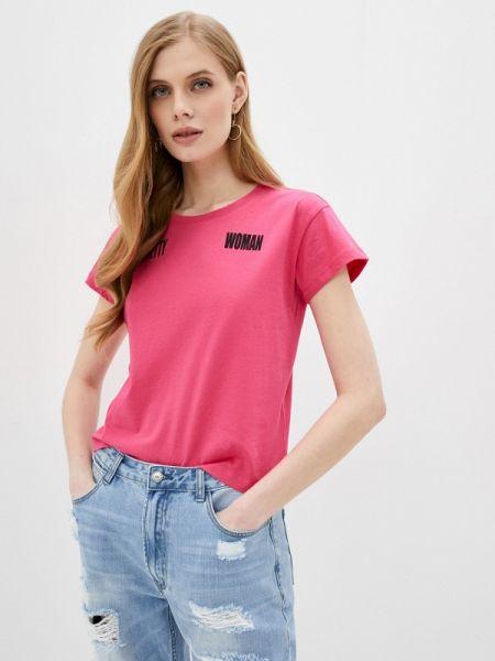 Розовое футбольное поло Sh