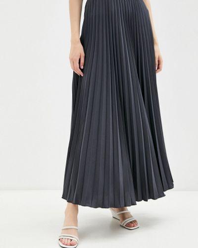 Плиссированная юбка - серая Goldrai