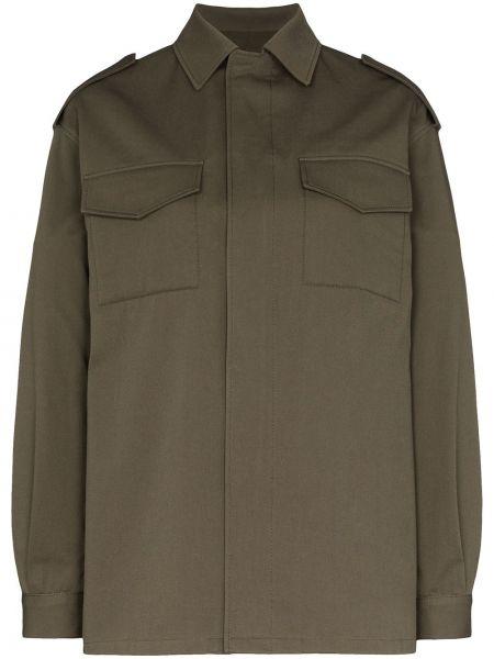 Длинная куртка - зеленая Valentino