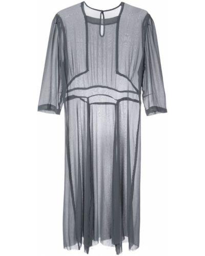 Платье миди средней длины - серое Zambesi