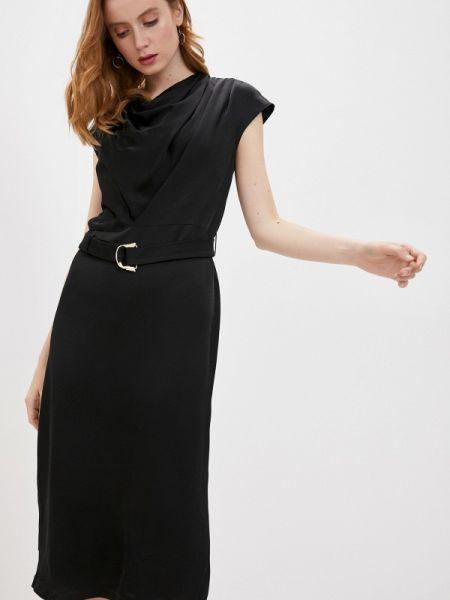 Повседневное платье черное весеннее Trussardi