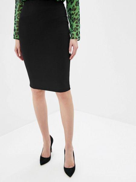 Облегающее платье осеннее черное Adl
